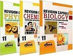 Revision Capsule CBSE Board Class 11 - PCB (Set of 3 books) by Disha Experts