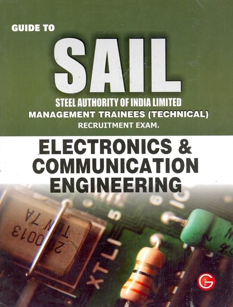 Guide To Sail : Electronics & Communication Engineering by Gkp price in India.
